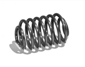 Conical pressure springs